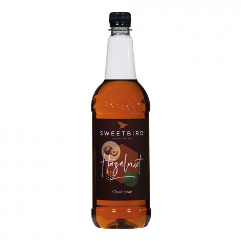 """Kohvisiirup Sweetbird """"Hazelnut"""", 1 l"""