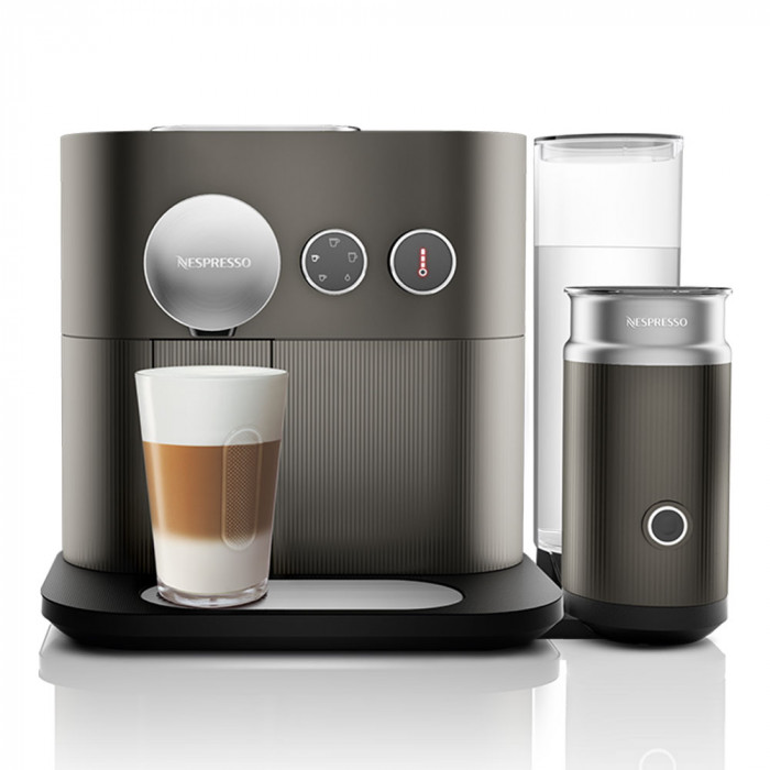 "Ekspres do kawy Nespresso ""Expert&Milk Anthracite Grey"""