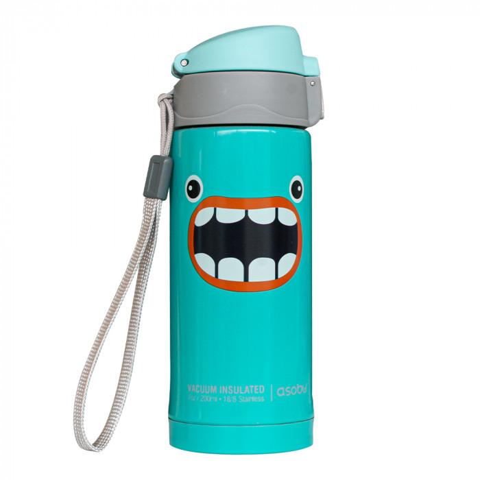 """Termosmuki Asobu """"Peek-A-Boo Turquoise"""", 200 ml"""