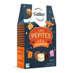 """Šokolādes konfekšu komplekts Galler """"Pépites"""", 14 gab."""