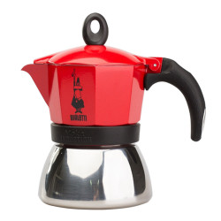 "Coffee maker Bialetti ""Moka Induction 3 cups Red"""