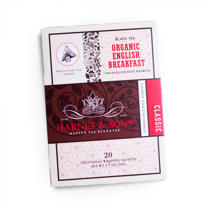 "Czarna herbata Harney & Sons ""Organic English Breakfast"""