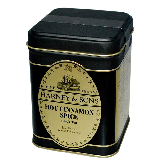 "Black tea with hot cinnamon spice aroma ""Hot Cinnamon Spice"""