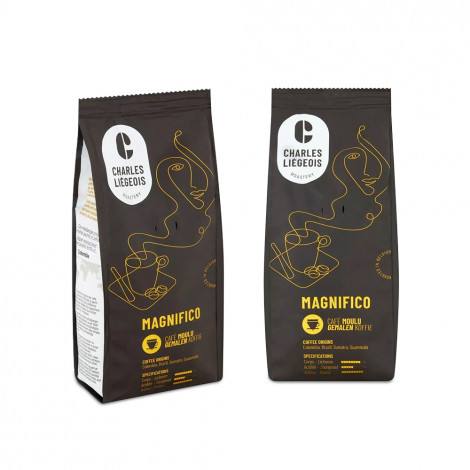 """Set gemalen koffie """"Magnifico"""", 2 x 250 g"""