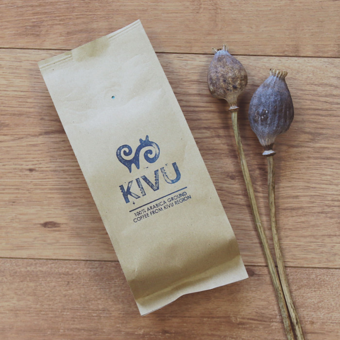 """Ground coffee """"Kivu"""", 250 g"""