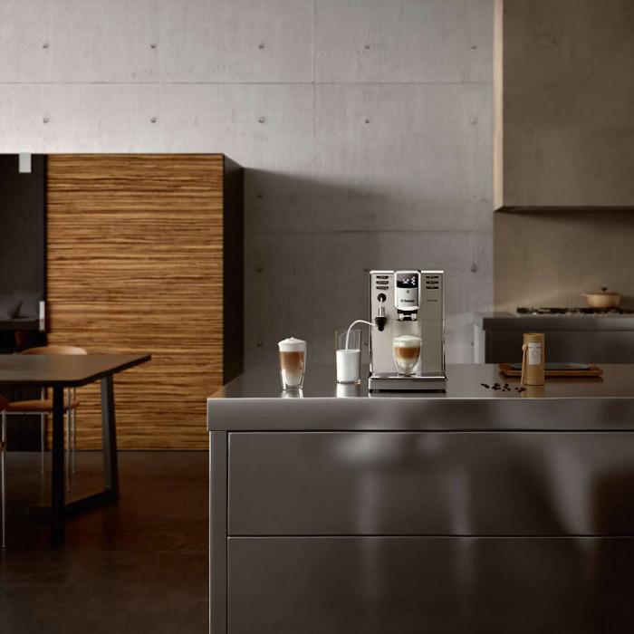 how to clean saeco coffee machine
