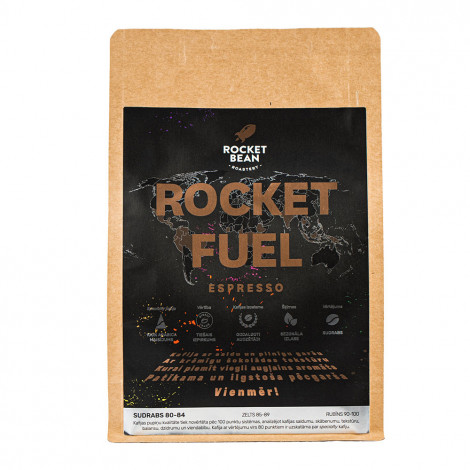 """Īpašās kafijas pupiņas Rocket Bean Roastery """"Rocket Fuel"""" House bland 200 g"""