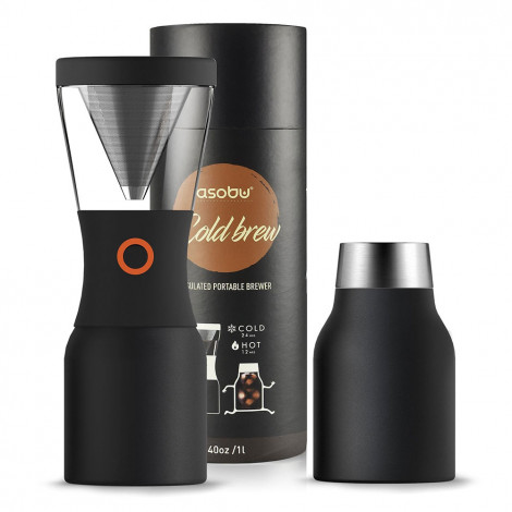 "Kaffeebereiter Asobu ""Cold Brew Stainless Steel Black"""