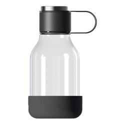 """Wasserflasche Asobu """"Dog Bowl Lite Black"""", 1 l"""