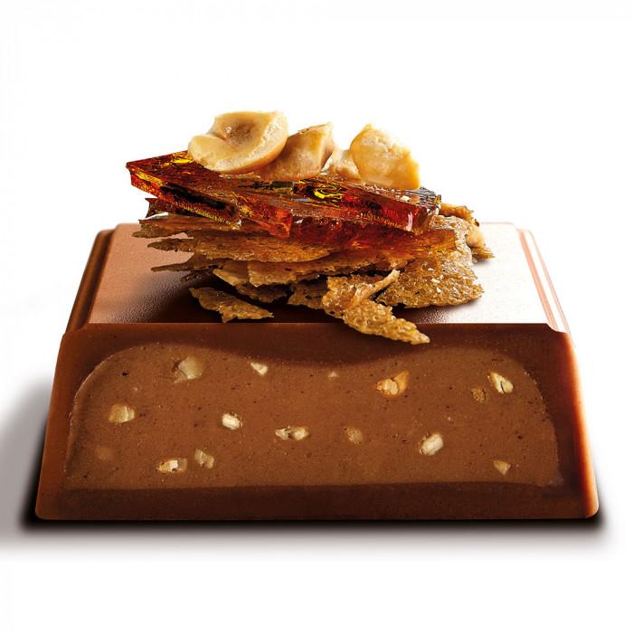 "Šokolaadibatoon Galler ""Milk Crunchy"", 70 g"