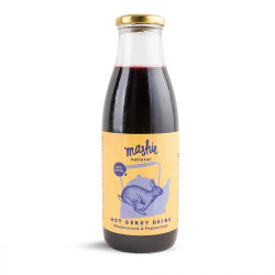 "Blackcurrant & Peppermint berry puree ""Mashie by Nordic Berry"", 750 ml"