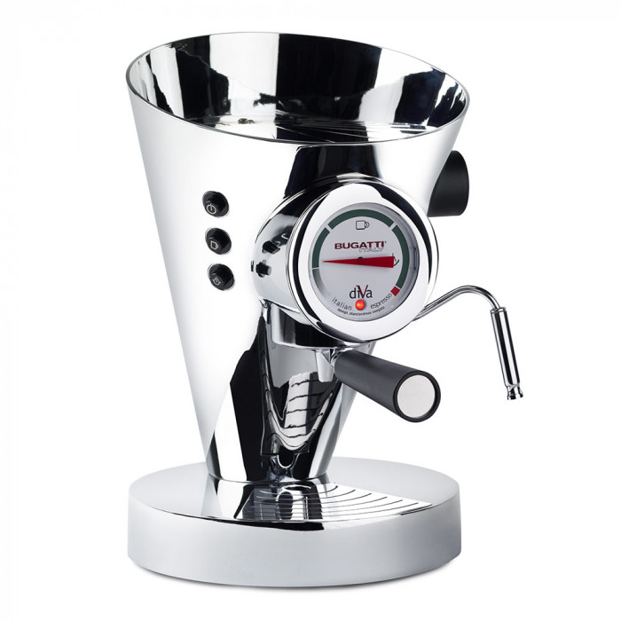"Coffee machine Bugatti ""Diva Chrome"""