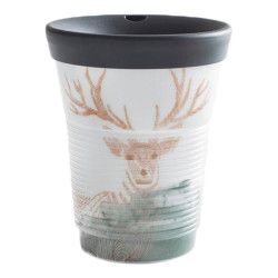 "Mug with a lid Kahla ""Cupit To Go Wilderness"", 350 ml"