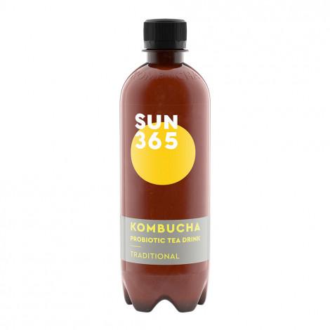 """Naturaalselt karboniseeritud teejook Sun365 """"Traditional Kombucha"""", 500 ml"""