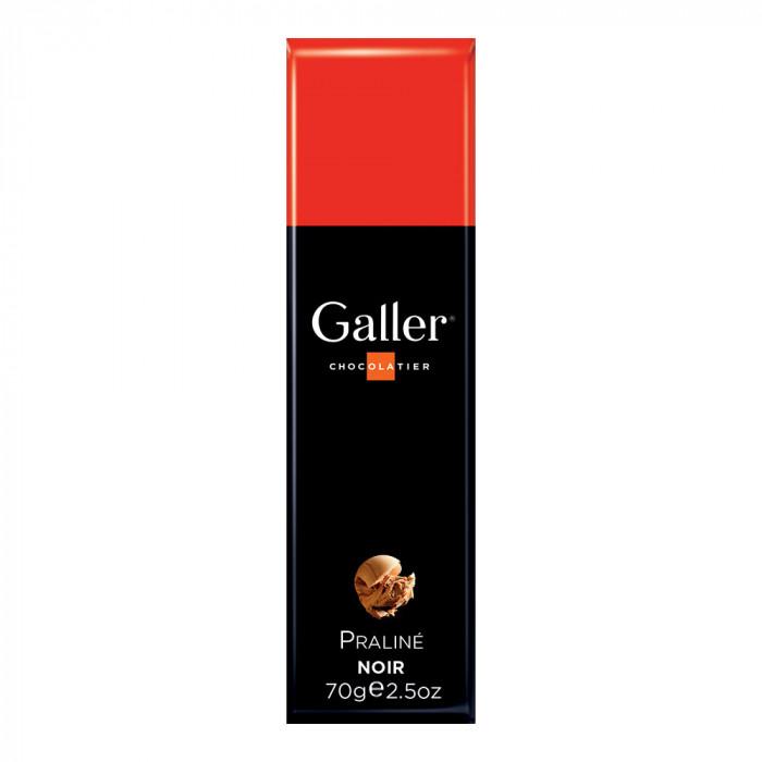"""Šokoladinis batonėlis Galler """"Dark Praliné"""", 1 vnt."""