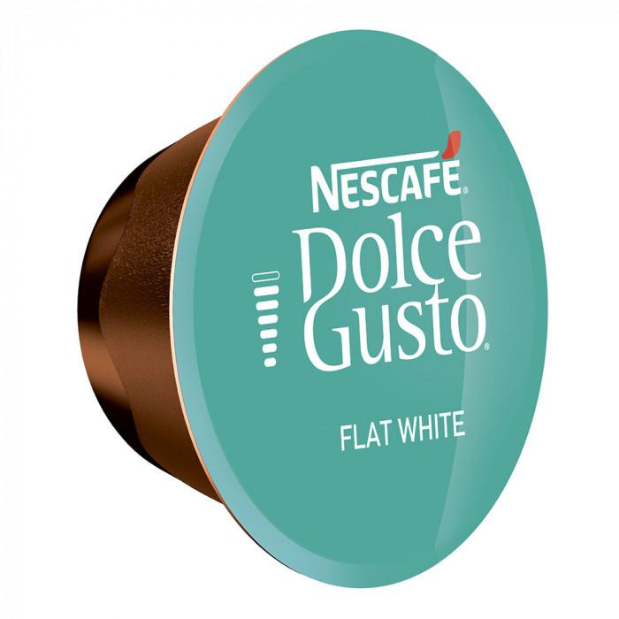 "Kavos kapsulės NESCAFÉ Dolce Gusto ""Flat White"", 16 vnt."
