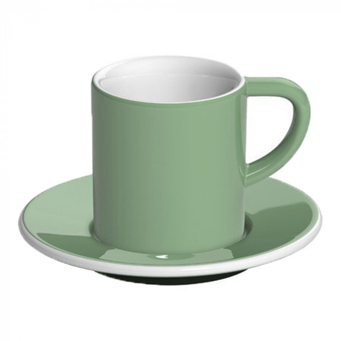 "Espresso cup with a saucer Loveramics ""Bond Mint"", 80 ml"