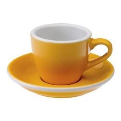 """Espressotasse mit Untertasse Loveramics """"Egg Yellow"""", 80 ml"""