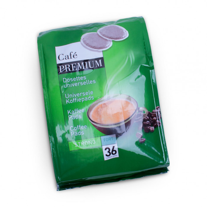 "Coffee pads Coffee Premium ""Strong"", 36 pcs."