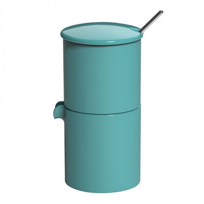 "Sugar and creamer jar Loveramics ""Bond Teal"", 90 ml"