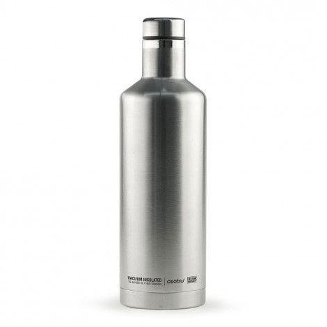 "Termospudel Asobu ""Times Square Silver"", 450 ml"