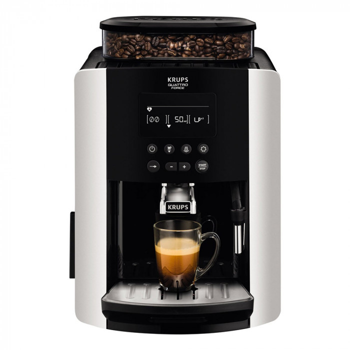 coffee machine krups arabica ea817840 the coffee mate. Black Bedroom Furniture Sets. Home Design Ideas
