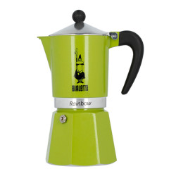 "Coffee maker Bialetti ""Rainbow 6 cups Green"""
