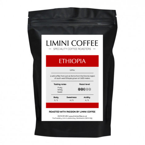 "Coffee beans Limini Coffee ""Ethiopia Limu"", 1 kg"