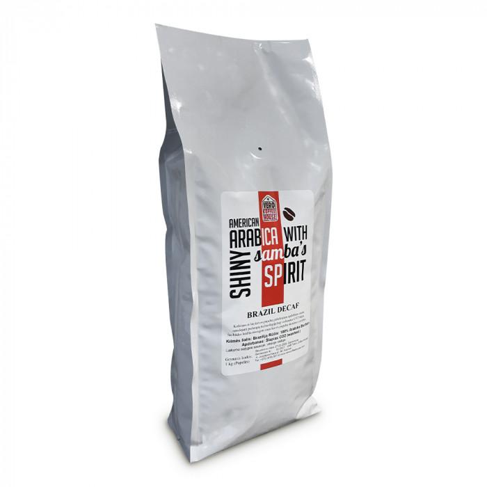 "Kavos pupelės Vero Coffee House ""Brazil Decaf"", 1 kg"