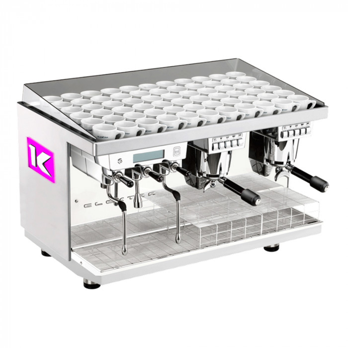 "Coffee machine Elektra ""Kup Ice White"" two groups"