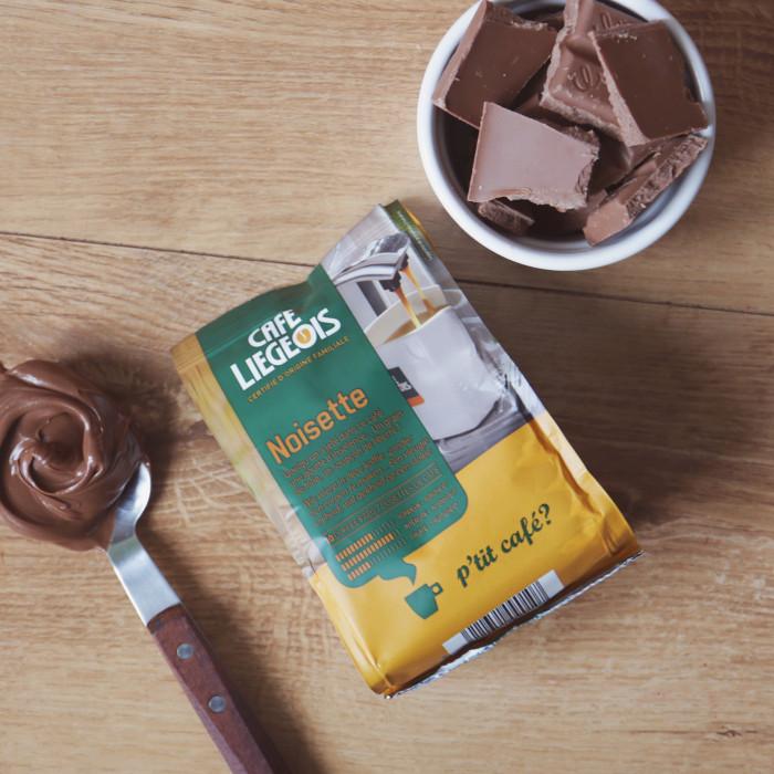 """Kavos pagalvėlės Café Liégeois """"Noisette"""", 10 vnt."""
