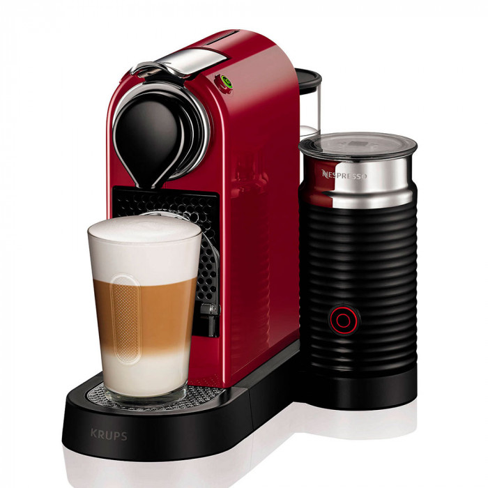 "Ekspres do kawy Nespresso ""Citiz & Milk Red"""