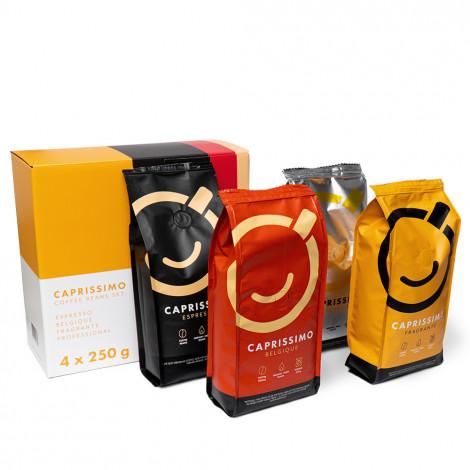 "Kaffeebohnen Set ""Caprissimo"", 4 x 250 g"