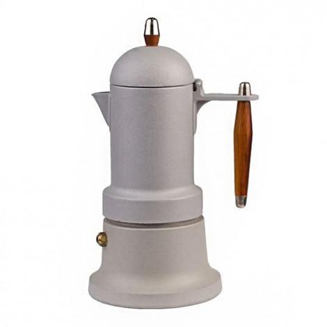 """Moka coffee maker G.A.T. """"Minni Plus Grey"""", 3 cups"""