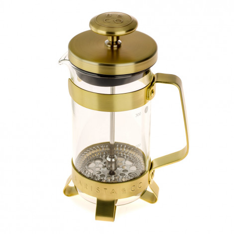 """French coffee maker Barista & Co """"Gold"""", 3 cups"""