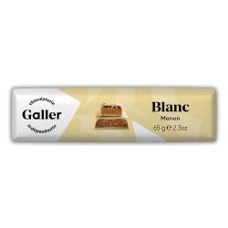 "Šokolādes batoniņš Galler ""White Manon"", 70 g"