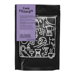 """Coffee beans Two Chimps """"The Waving Goldfish"""", 250 g"""