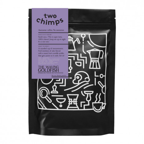 """Coffee beans Two Chimps """"The Waving Goldfish"""", 500 g"""