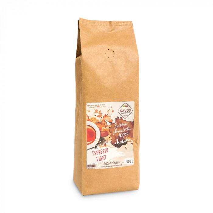 """Jahvatatud kohv Kavos Gurmanai """"Espresso Light"""", 500 g"""