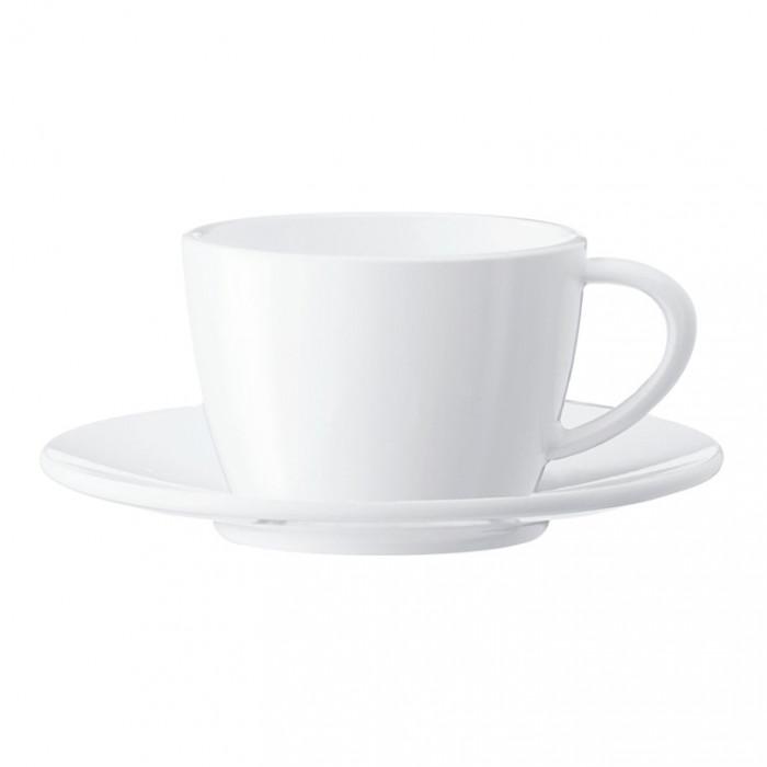 Cappuccino puodelis su lėkštute Jura, 2 vnt.