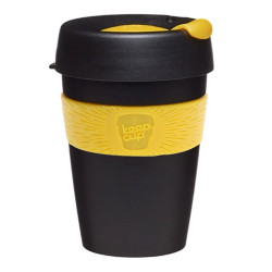 "Kubki do kawy KeepCup ""Black/Yellow"", 340 ml"