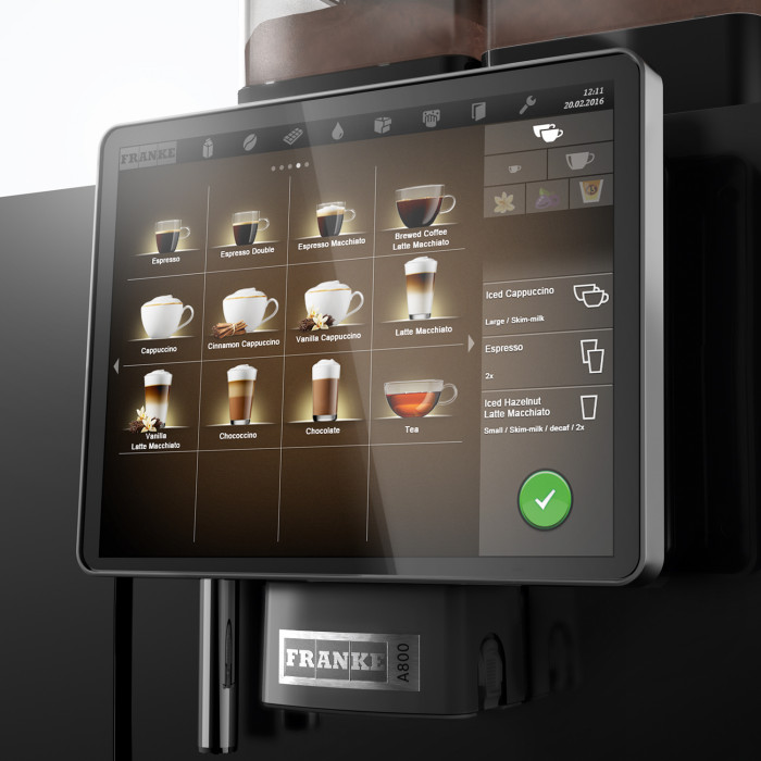coffee machine franke a800 the coffee mate. Black Bedroom Furniture Sets. Home Design Ideas