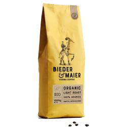 """Kaffeebohnen Bieder & Maier """"ORGANIC LIGHT ROAST"""", 1 kg"""