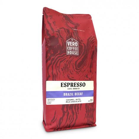 """Kafijas pupiņas Vero Coffee House """"Brazil Decaf"""", 1 kg"""