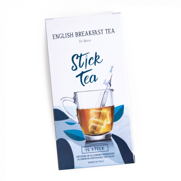 "Melnā tēja Stick Tea ""English Breakfast Tea"", 15 gab."