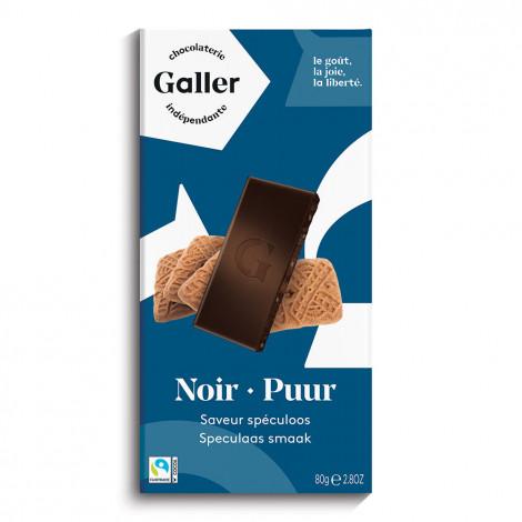 """Šokolaaditahvel Galler """"Noir Speculoos"""", 80 g"""