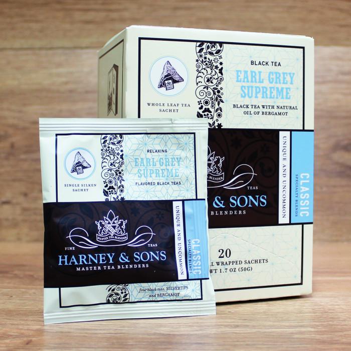 "Juodoji arbata Harney&Sons ""Earl Grey Supreme"""