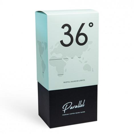 """Kafijas pupiņas """"Parallel 36"""" dāvanu kastē, 1 kg"""