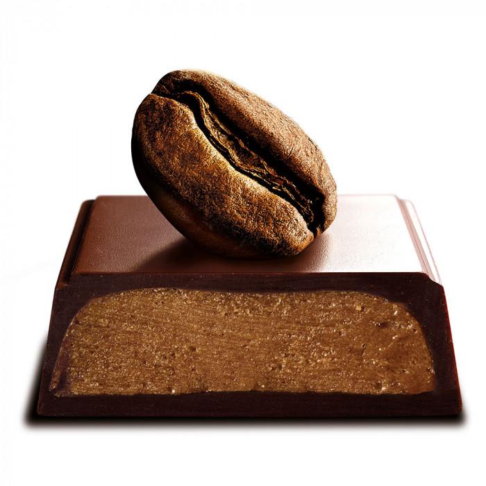 """Šokoladinis batonėlis Galler """"Dark Café Liégeois"""", 70 g"""
