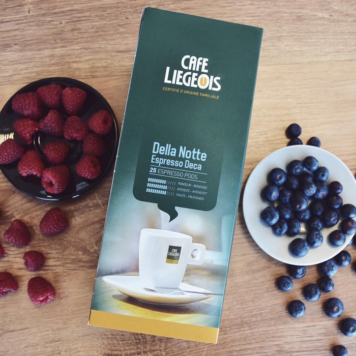 """Coffee pods Café Liégeois """"Della Notte Espresso Deca"""", 25 pcs."""